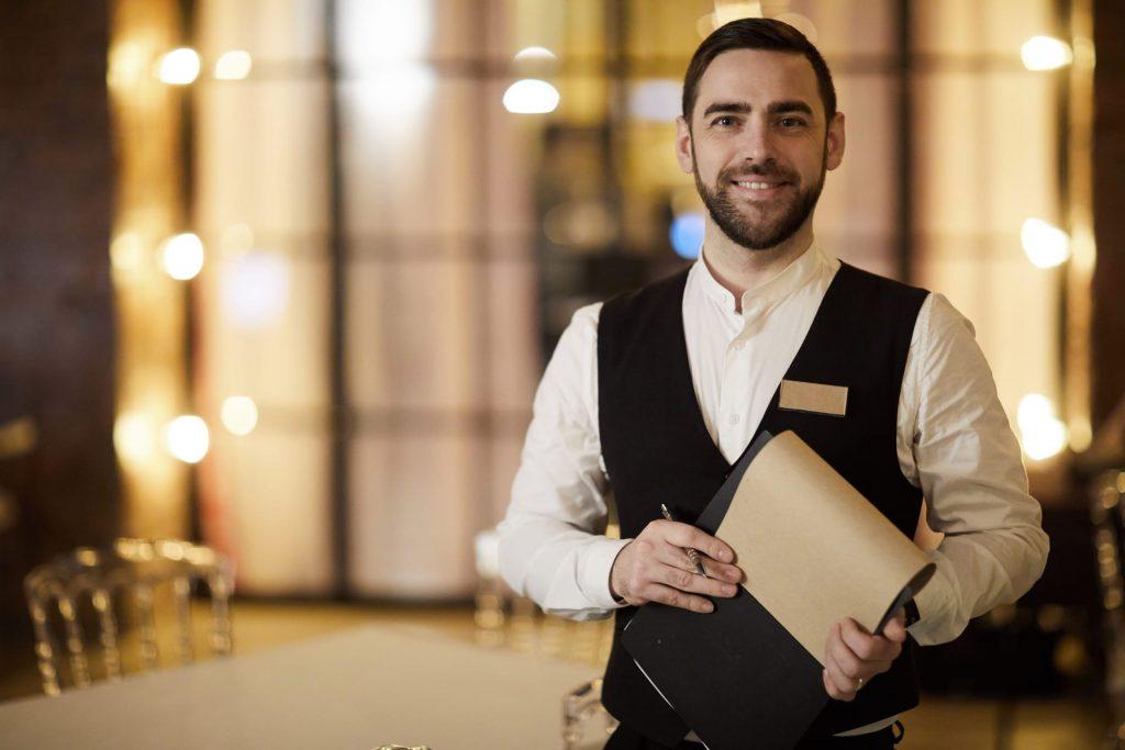 profesional waiter in restaurant DBWT692